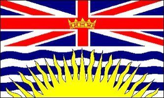 "NEW 3x5 British Columbia Province Canada Flag 3 x 5 by NationalCountryFlags. $5.04. Lightweight and great for hanging inside and out doors. Brand new 3' x 5' (36"" x 60"") Polyester British Columbia flag. Includes 2 Brass grommets for hanging!. Double sewn edges for durability. The Flag of British Columbia, Canada is based upon the shield of the provincial arms of British Columbia. At the top of the flag is a rendition of the Union Flag, defaced in the centre by a crown, represe..."