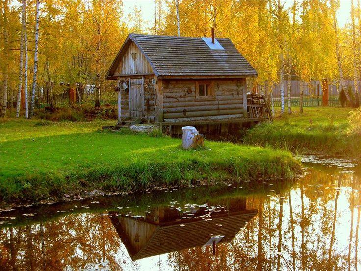 Banya = Russian sauna
