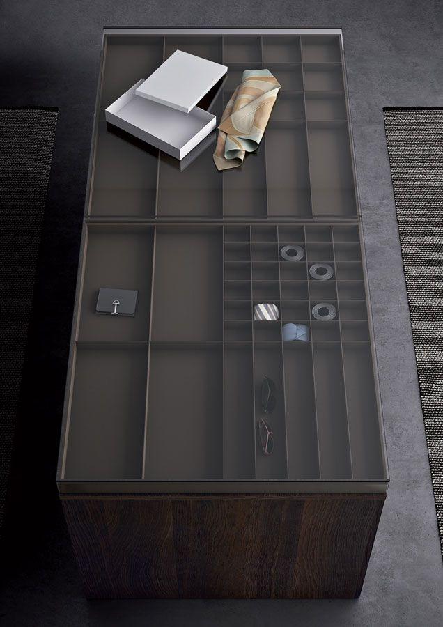Island - Gabinete para armarios sin cita previa con cajones y estantes