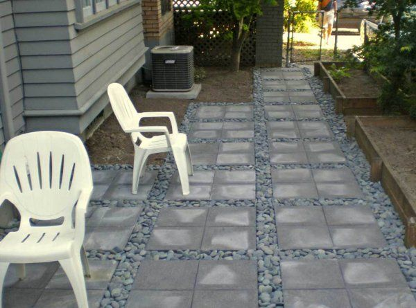 Patios: Slate And Pavers | Precision Landscape Services | Portland .