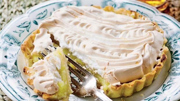 Denne tærte kan man meget nemt bliver forfalden til - servér den som et perfekt punktum til gæstemiddagen