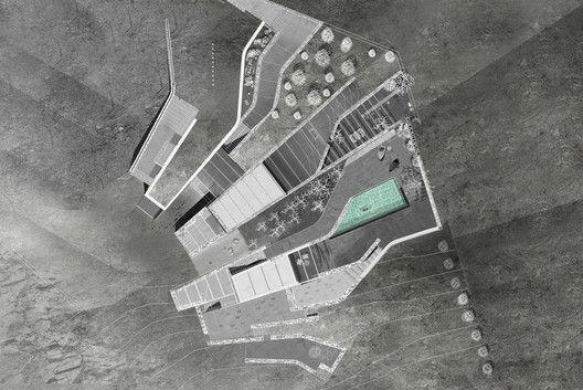 Vacation Residence at Lia,Roof Floor Plan