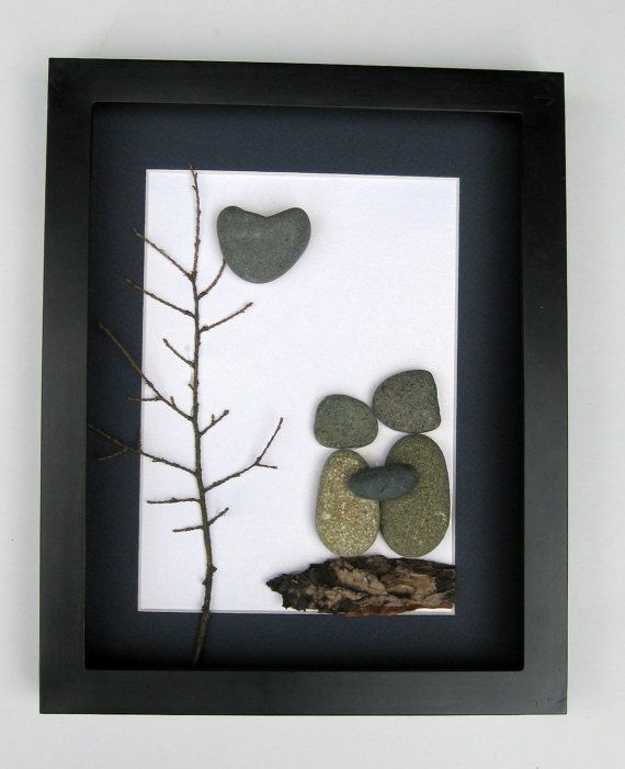 Unique Wedding Gifts Ontario : Unique Engagement Gift- Personalized Couples GiftPebble ArtLove ...