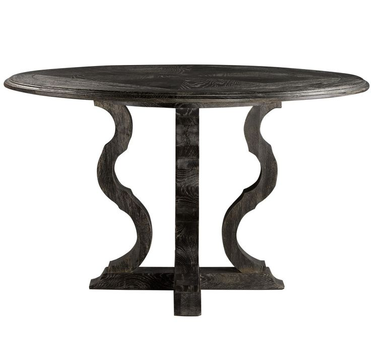 25 Best Ideas About Black Round Dining Table On Pinterest