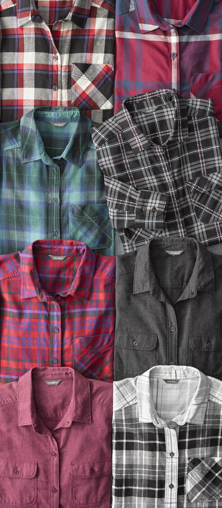 It's flannel season! Brushed on both sides for exceptional softness. Built for ultimate winter warmth.