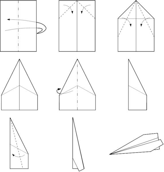 Simple et rapide l 39 avion en papier qui vole coup sur origami pinterest simple and internet - Origami facile et rapide ...