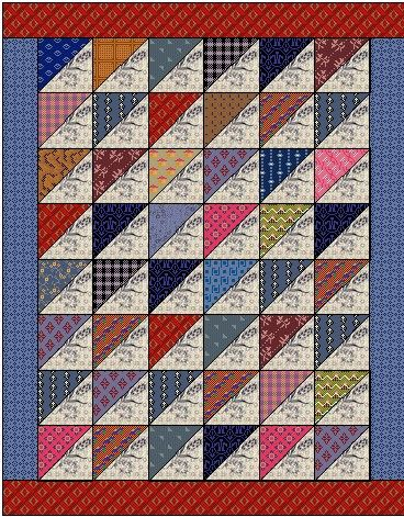 Free doll quilt patterns from Country Lane Quilts