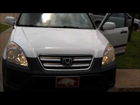 Headlight Bulb Replacement Service: 2005 Honda CR-V (high and low beams) - YouTube