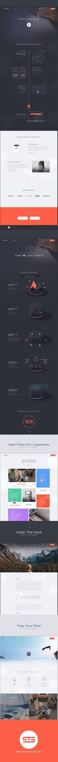Creative UI and UX Design Work