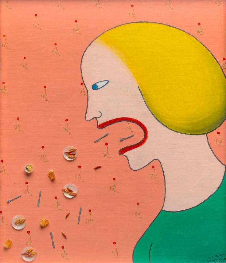 Marie-Louise Ekman har ohämmat rört sig mellan måleri, skulptur, film och teater sedan 1960-talet. I Ekmans bildvärldar framträder vardagens absurda konstruktioner där människor delar bord med djur och brakskitsgubbar, omgivna av folkhemmets blommiga tapeter. Med nära 350 verk blir utställningen den hittills största presentationen av hennes uppmärksammade konstnärskap.