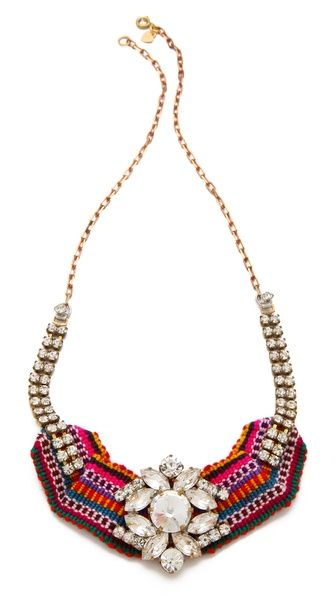 Retro Disco Cowgirl Necklace