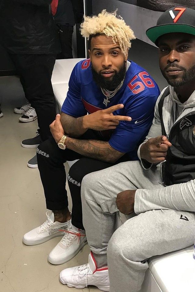 Odell Beckham Jr. - With MIchael Vick