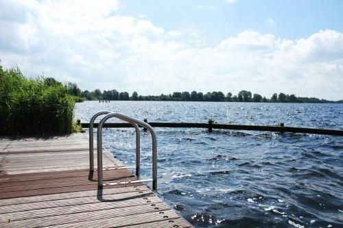 Vinkeveen Lakes, in The Netherlands