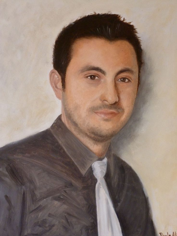 AP Fine Arts: Custom handmade oil painting on canvas from your p...