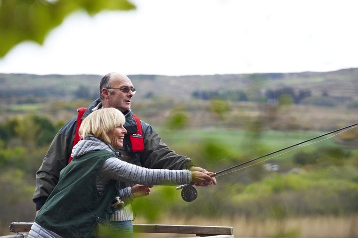 Learn how to fish at Lake Abisdealy with Brian - please arrange in advance.