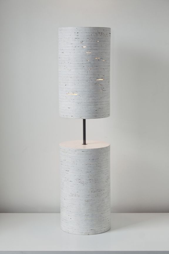 Lighting Design // modern concrete table lamp introducing the Buoy Lamp