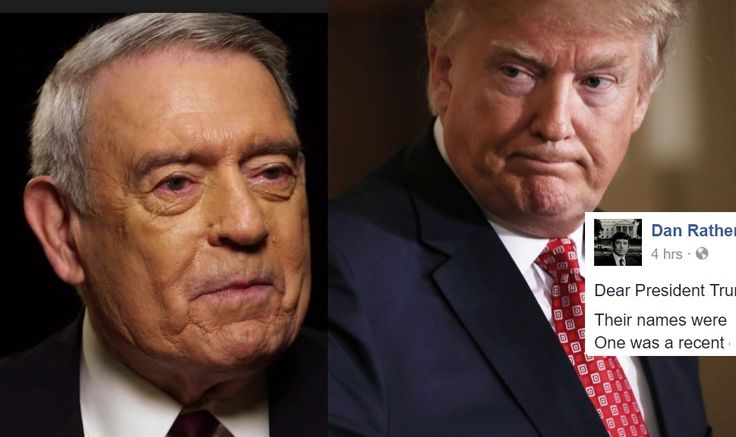 The legendary newsman isn't about to let Trump get away with his silent complicity.