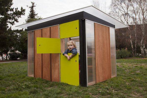 The kontemporary kid's dream house!