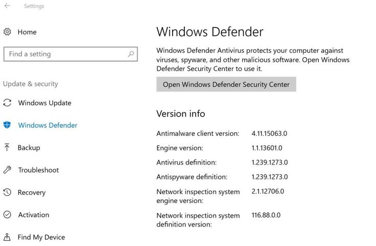 SCCM Endpoint Protection on Windows 10 Creators Update 1703 #endpoint #protection #definition http://gambia.remmont.com/sccm-endpoint-protection-on-windows-10-creators-update-1703-endpoint-protection-definition/  # SCCM Endpoint Protection on Windows 10 Creators Update 1703 System Center Endpoint Protection and Windows Defender both have a history of changes since they came out years ago. When Windows 10 came out more changes were made to Endpoint Protection and Windows Defender as we…