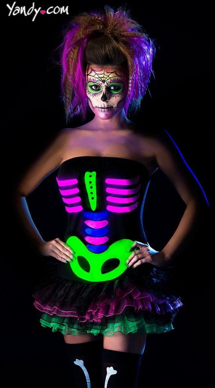 Neon Halloween Costumes 2015