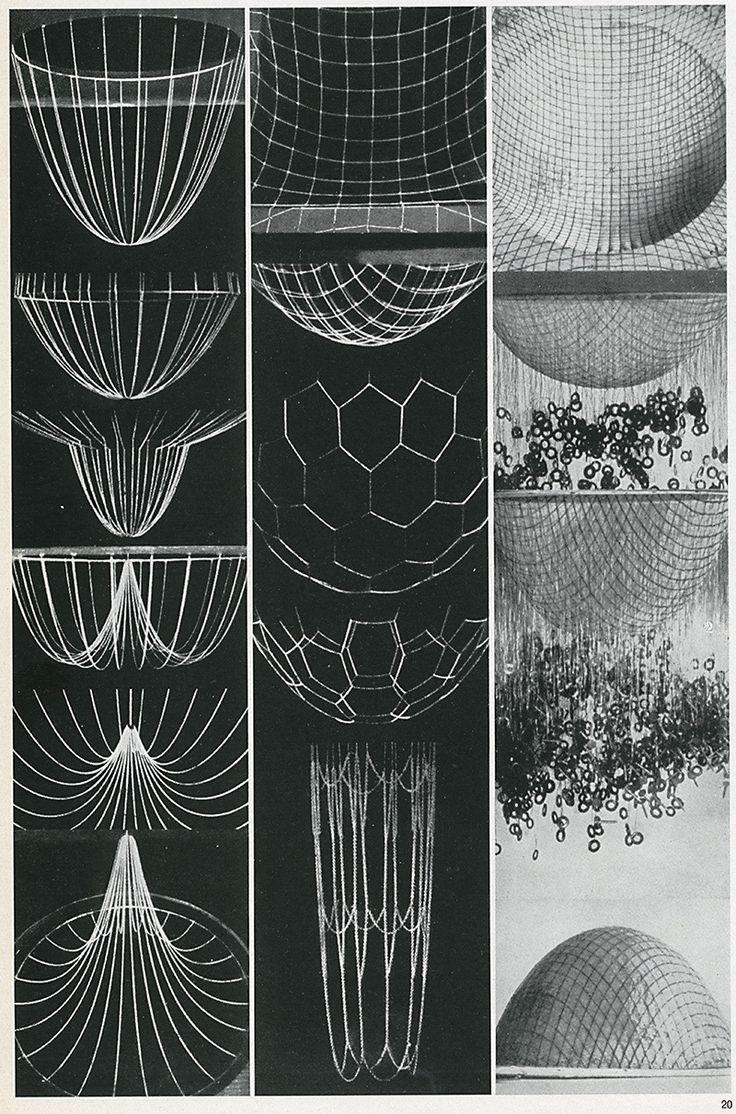 Frei Otto Casabella 301 1966 40 Sacred Geometry