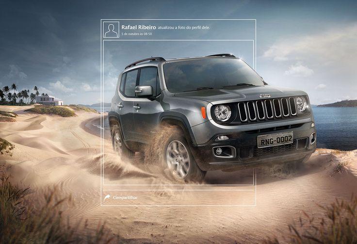Jeep . Renegade 2017 on Behance