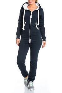 Damen-jumpsuit-jogger-jogging-anzug-trainingsanzug-overall-onesie-LL-203C
