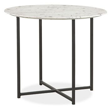 Clic End Tables In Natural Steel