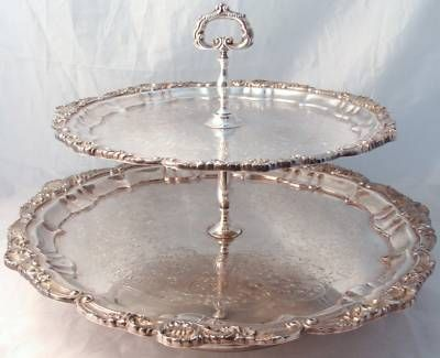 Completely new 89 best Silver trays images on Pinterest | Antique silver, Silver  LH72