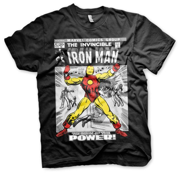 Iron Man Cover Koszulka Męska