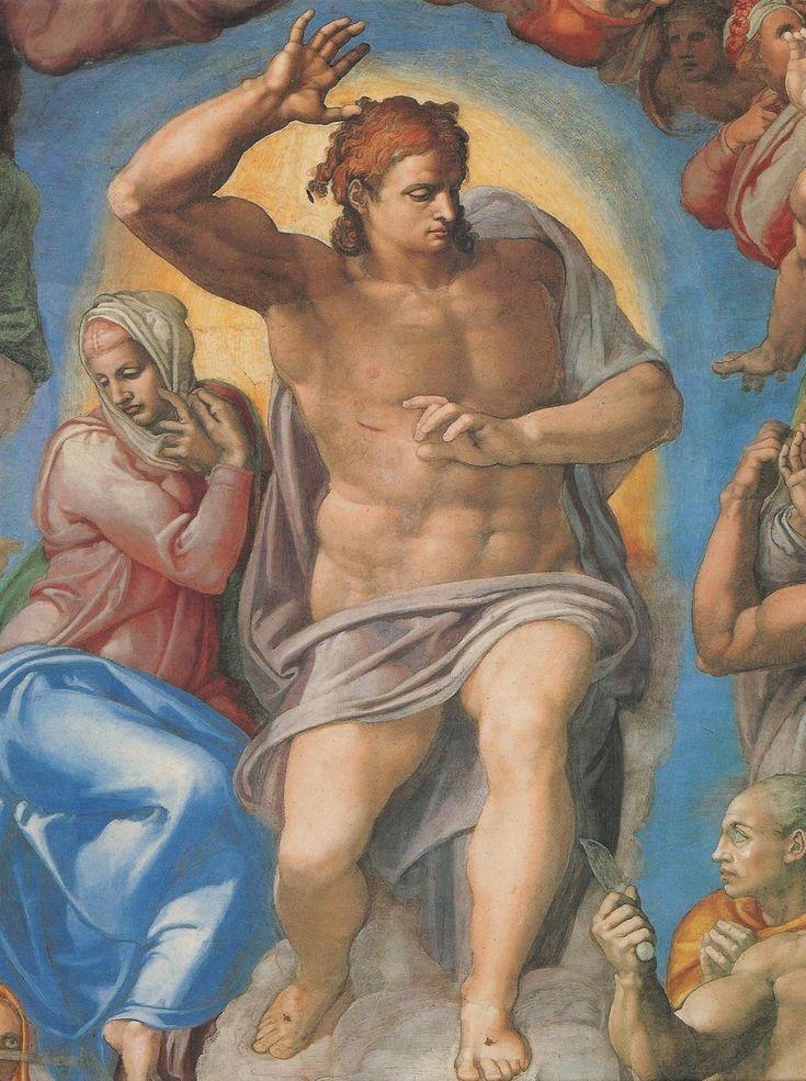 Michelangelo | La Cappella Sistina | The Last Judgment, 1535-1541