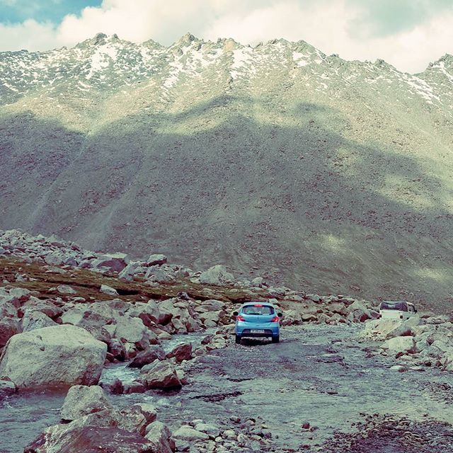 """""""Highest Roads !! Tata motors will surely feel proud after  watching their resently launched vehicle doing all these crazy stuff 🏔️🏞️🚗💨⛰️😎.#tiago . . . . . . . . . . . . #himalayas #roadtrip #highway #world #highestroad #5300m #road #changla #changlapass #ladakh #drive #driver #tata #tatamotors #fantastico #fantastic #mountains #ride #rideordie #raiddehimalaya #rider #mountainpass #landscape #wonderfulplaces #earthporn #travel #travelblogger"""" by @naturetramp_. #fashionbloggers…"""