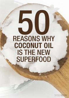 Check out 50 uses for coconut oil from around your house to your daily beauty routine.