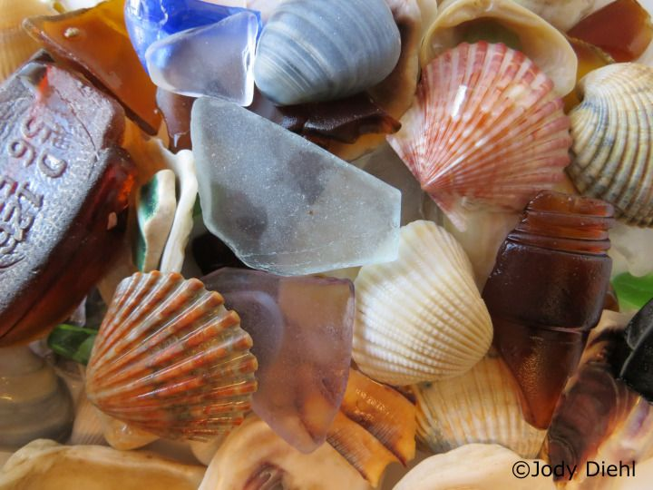 A Sea Glass Treasure Trove – Surfside Beach (Texas Gulf Coast)