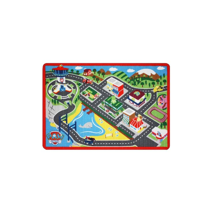 Paw Patrol Game Rug Adventure Bay,