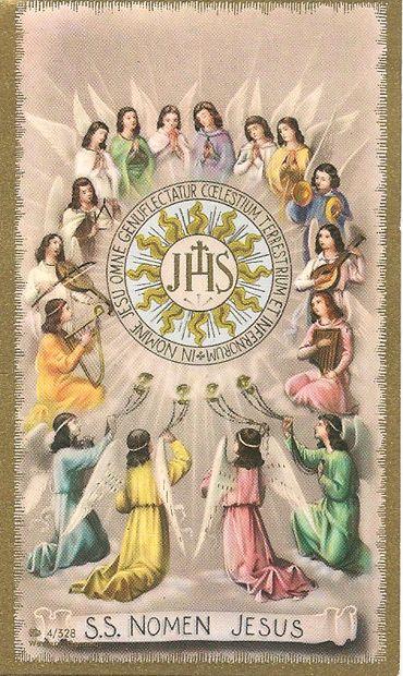 Adoración del Santo Nombre de Jesucristo