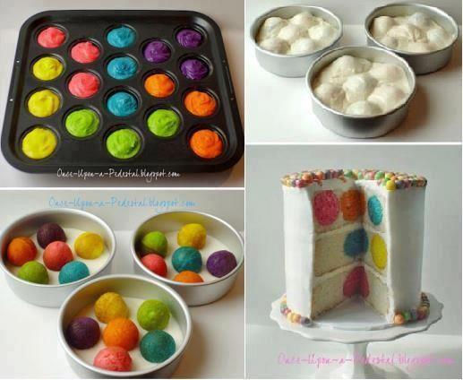 polkadot cakes