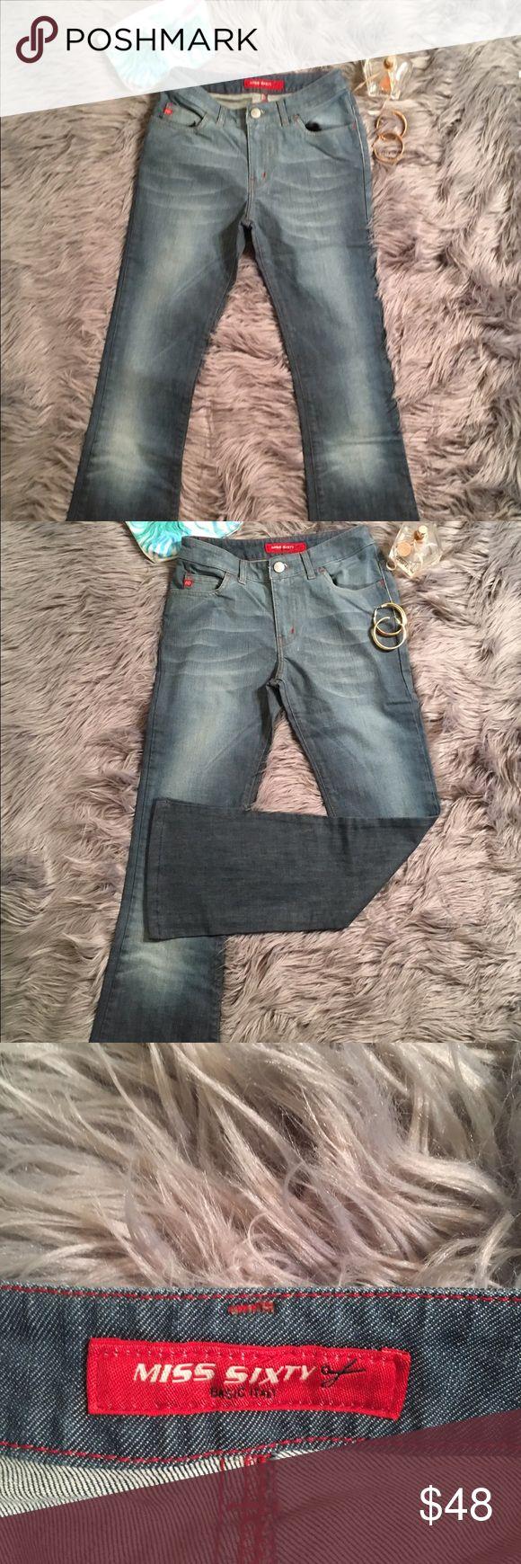 Miss Sixty Jeans Sz 24 Italy flare pant 😍🔥 Sexy flare Miss Sixty Jeans size 24 Miss Sixty Jeans Flare & Wide Leg