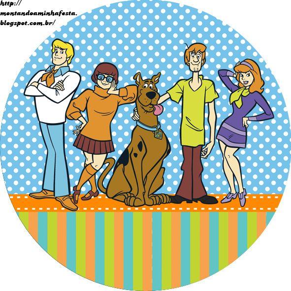 Montando a minha festa: Kit digital Scooby doo