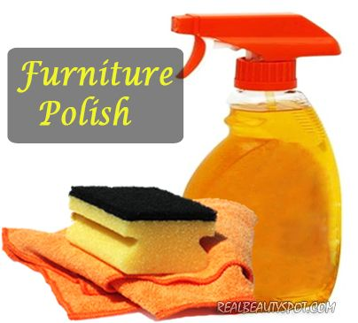 cleaning tips - natural furniture cleanser n polish - realbeautyspot.com