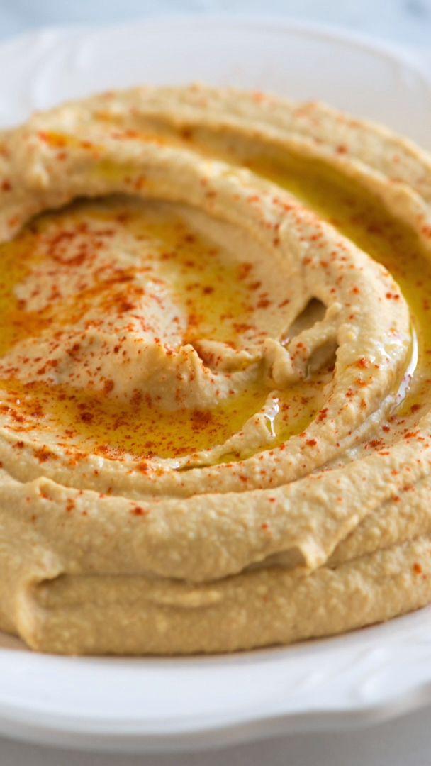 Einfaches Hummus-Rezept – Besser als im Laden gekauft