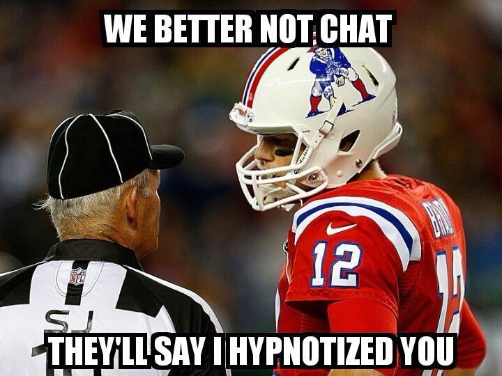 #HypnoGate #TB12...Haha! Love it