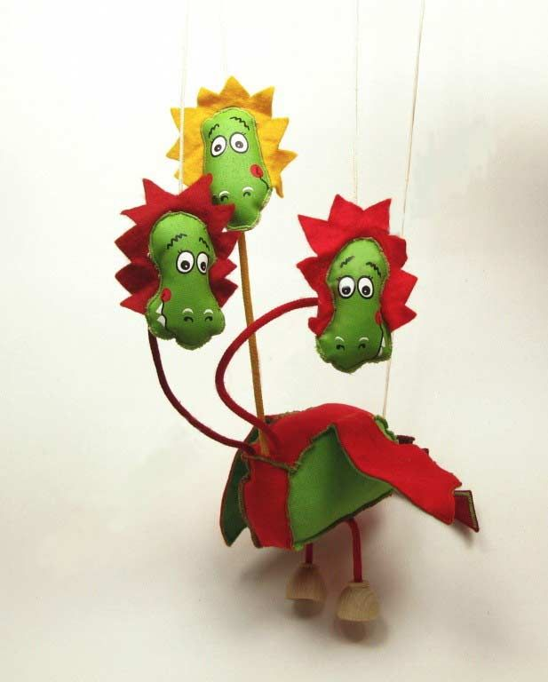 dragon puppet marionette cloth puppets and marionettes on threads our ...