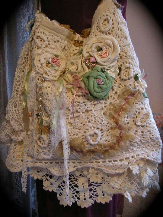 450 Best Images About Shabby Chic Purses On Pinterest