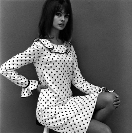 Модели 60-х: Джин Шримптон / фото 2015