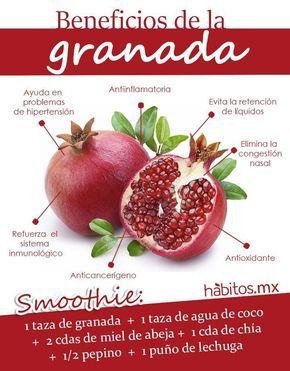 Hábitos Health Coaching | Beneficios de la Granada