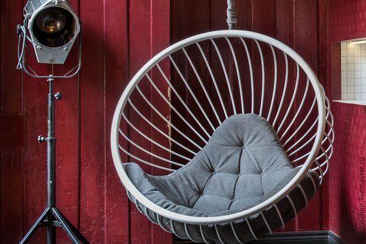 Мебель ручной работы. Подвесное кресло шар. Bubblechair. Интернет-магазин Ярмарка Мастеров. Навесное кресло, дизайнерское кресло