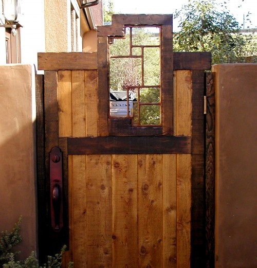 Cool gate Outdoor Space Pinterest