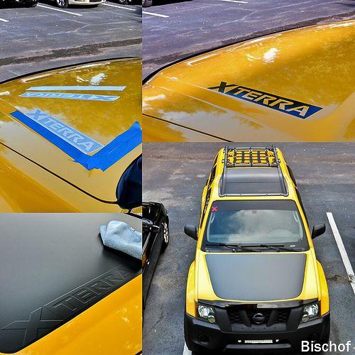 Vigg's Hood Blackout Pics - Page 3 - Second Generation Nissan Xterra Forums (2005+)