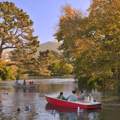 Things to do in San Francisco: Golden Gate Park. Boat rental from Stow Lake...Go do it!